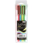 Marvy Uchida - Le Pens - Neon - 4 Pack - .03mm