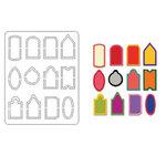 Coluzzle Tiny Tag Template, CLEARANCE