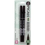 Sakura - Pigma Professional Brush Pen - Medium - 2 Pack