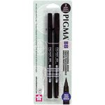 Sakura - Pigma Professional Brush Pen - Bold - 2 Pack