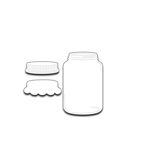 Penny Black - Creative Dies - Mason Jar