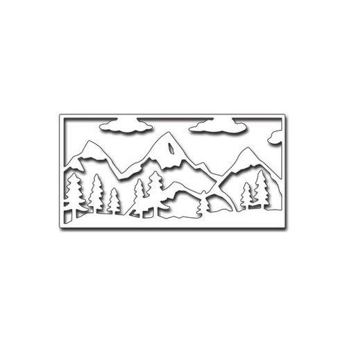Penny Black - Creative Dies - Mountains