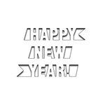 Penny Black - Creative Dies - Happy New Year