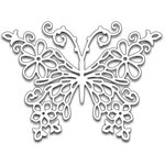 Penny Black - Creative Dies - Floral Butterfly