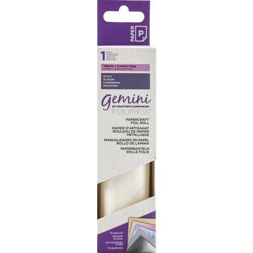 Crafter's Companion - Gemini - FoilPress - Papercraft Foil Roll - Icicle