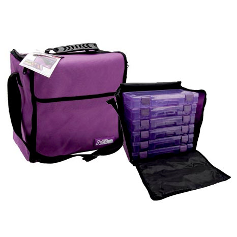 Art Bin - Mega Tote - Purple