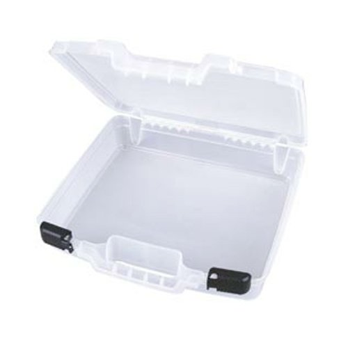 Art Bin - Quick View Deep Base Carrying Case - Clear