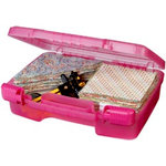 Art Bin - Quick View Carrying Case - One Compartment - Raspberry