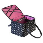 Creative Options - Crafter's Tapered Tote - Multicolor Polka Dots