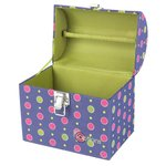 Creative Options - Crafter's Treasure Trunk - Multicolor Circles