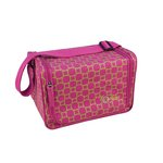 Creative Options - Stow N' Go Shoulder Tote - Magenta and Green Maze