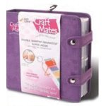 Craft Mates - Craft Organizer - Double Snapping Purple Suede with Eight 2XL Locking Caddies