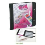 Craft Mates - Craft Organizer - Snapping Canvas Black with Four Locking Caddies