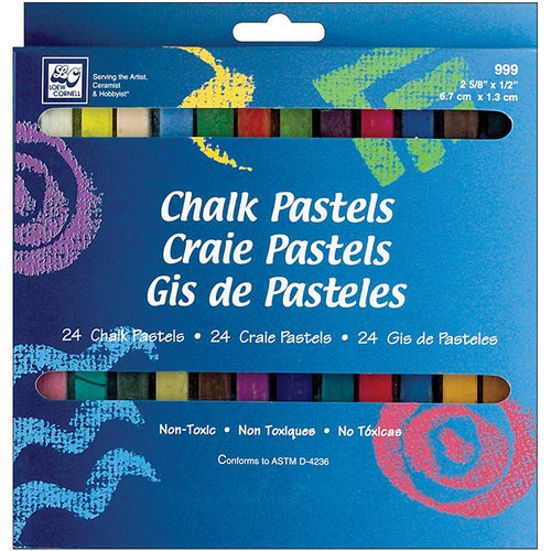 Loew-Cornell - Chalk Pastels - 24 Pack