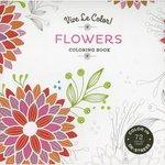 Abrams Books - Vive Le Color - Coloring Book - Flowers