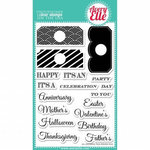 Avery Elle - Clear Acrylic Stamps - All Occasion Tags