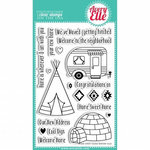 Avery Elle - Clear Acrylic Stamps - Home Sweet Home