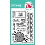 Avery Elle - Clear Acrylic Stamps - Made With Love