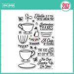 Avery Elle - Clear Acrylic Stamps - Tea Time