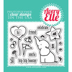 Avery Elle - Clear Acrylic Stamps - Ellie