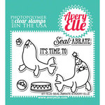 Avery Elle - Clear Acrylic Stamps - Seal-abrate