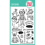 Avery Elle - Clear Acrylic Stamps - Geek Love