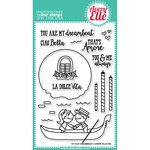 Avery Elle - Clear Acrylic Stamps - Dreamboat