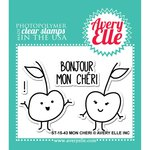 Avery Elle - Clear Acrylic Stamps - Mon Cheri