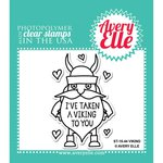 Avery Elle - Clear Acrylic Stamps - Viking