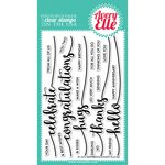 Avery Elle - Clear Acrylic Stamps - Sentimental