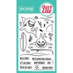 Avery Elle - Clear Acrylic Stamps - Hello Chum