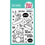 Avery Elle - Clear Acrylic Stamps - Stoked