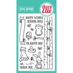 Avery Elle - Clear Acrylic Stamps - Woodland Wonders