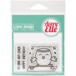 Avery Elle - Clear Acrylic Stamps - Hot Chick
