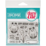 Avery Elle - Clear Acrylic Stamps - Ribbit Ribbit