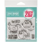 Avery Elle - Clear Acrylic Stamps - That Bites