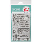 Avery Elle - Clear Acrylic Stamps - The Scoop