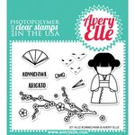 Avery Elle - Clear Acrylic Stamps - Konnichiwa