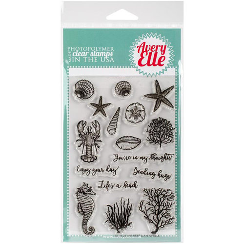 Avery Elle - Clear Acrylic Stamps - The Reef