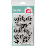 Avery Elle - Clear Acrylic Stamps - Big Greetings