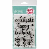 Avery Elle - Clear Photopolymer Stamps - Big Greetings