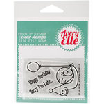 Avery Elle - Clear Acrylic Stamps - I'm Late