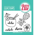 Avery Elle - Clear Acrylic Stamps - Aloha