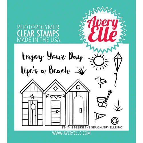 Avery Elle - Clear Acrylic Stamps - Beside The Sea