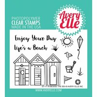 Avery Elle - Clear Photopolymer Stamps - Beside The Sea