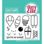 Avery Elle - Clear Acrylic Stamps - Cool Treats