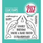 Avery Elle - Clear Acrylic Stamps - Extraordinary