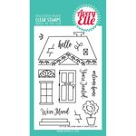 Avery Elle - Clear Acrylic Stamps - Welcome Home
