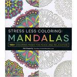 Adams Media - Stress Less Coloring - Mandalas
