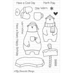 My Favorite Things - Birdie Brown - Clear Acrylic Stamps - Cool Day
